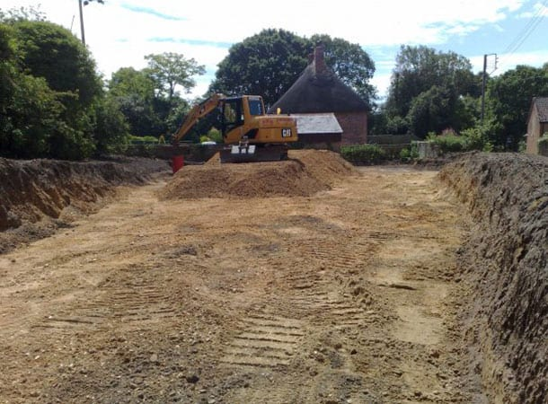 Car park in the making!