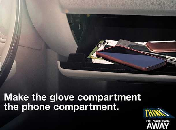 Make the Glove Compartment the Mobile Phone Compartment