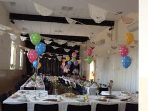 The hall can be decorated in a wide range of ways to help provide the right environment for your event.